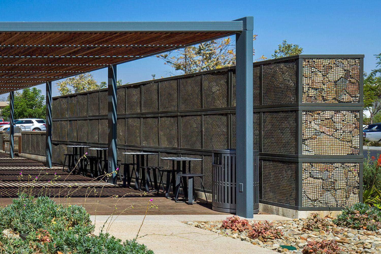 ECO-ROCK® as screening wall
