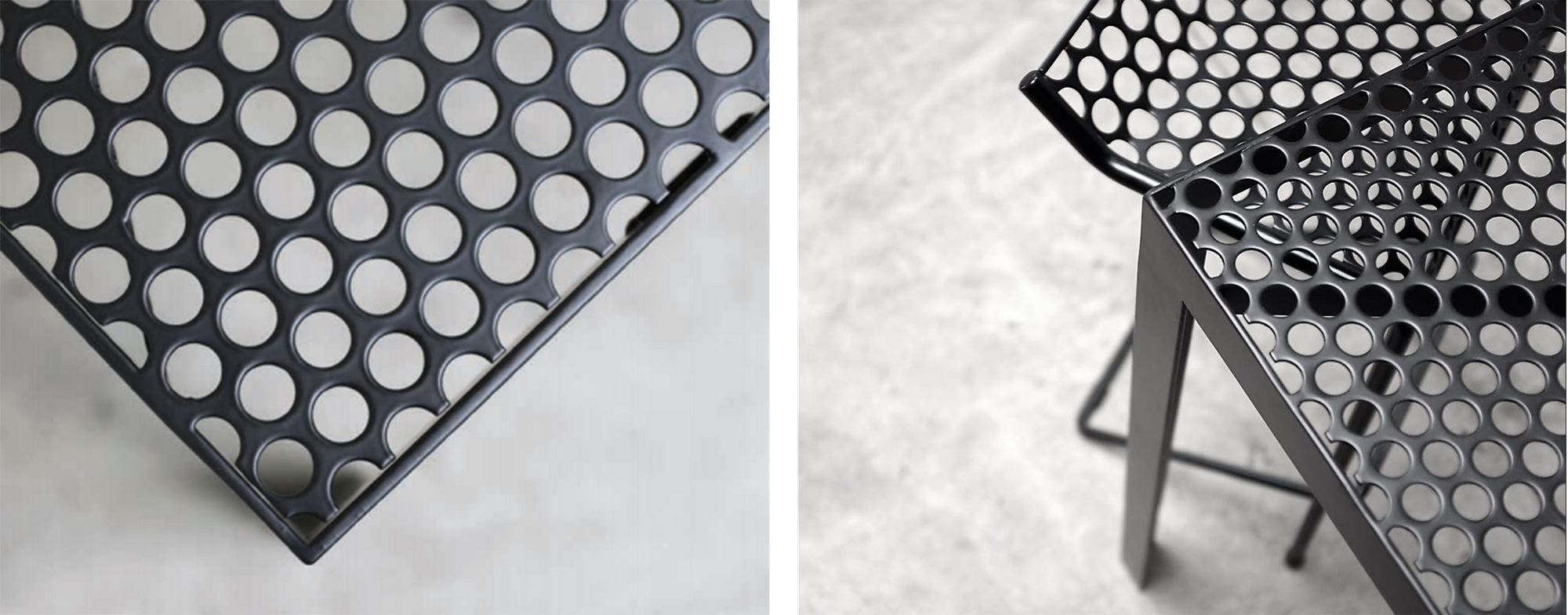 RAD Furniture Perforated Table