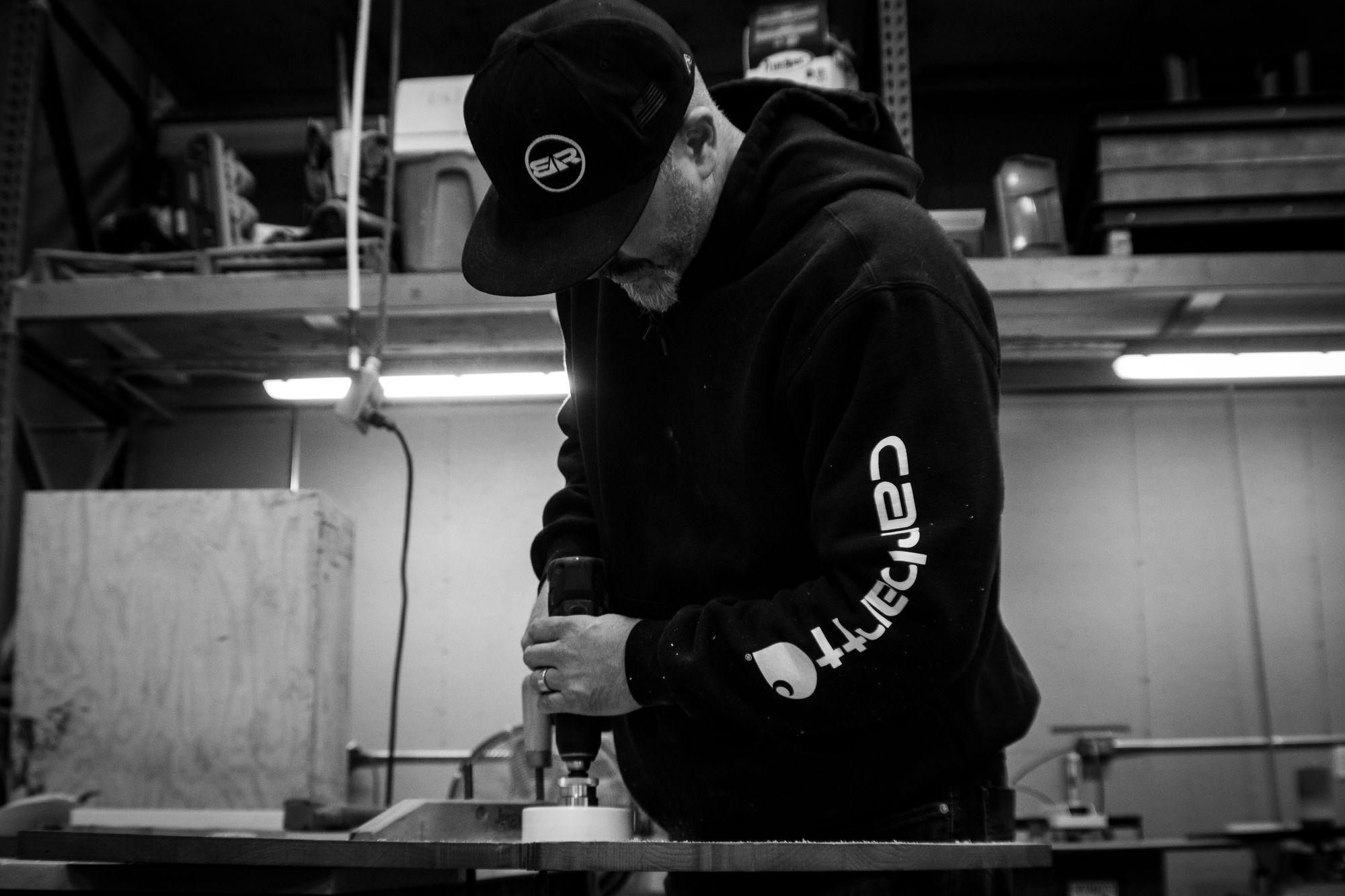 Blackrock designer Nathan Simpson begins crafting pendant lights