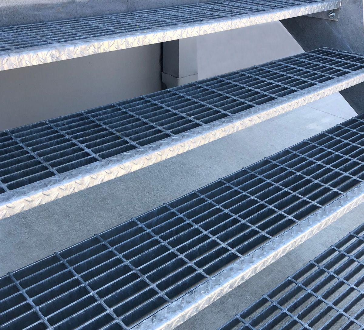 McNICHOLS® Bar Grating Stair Treads