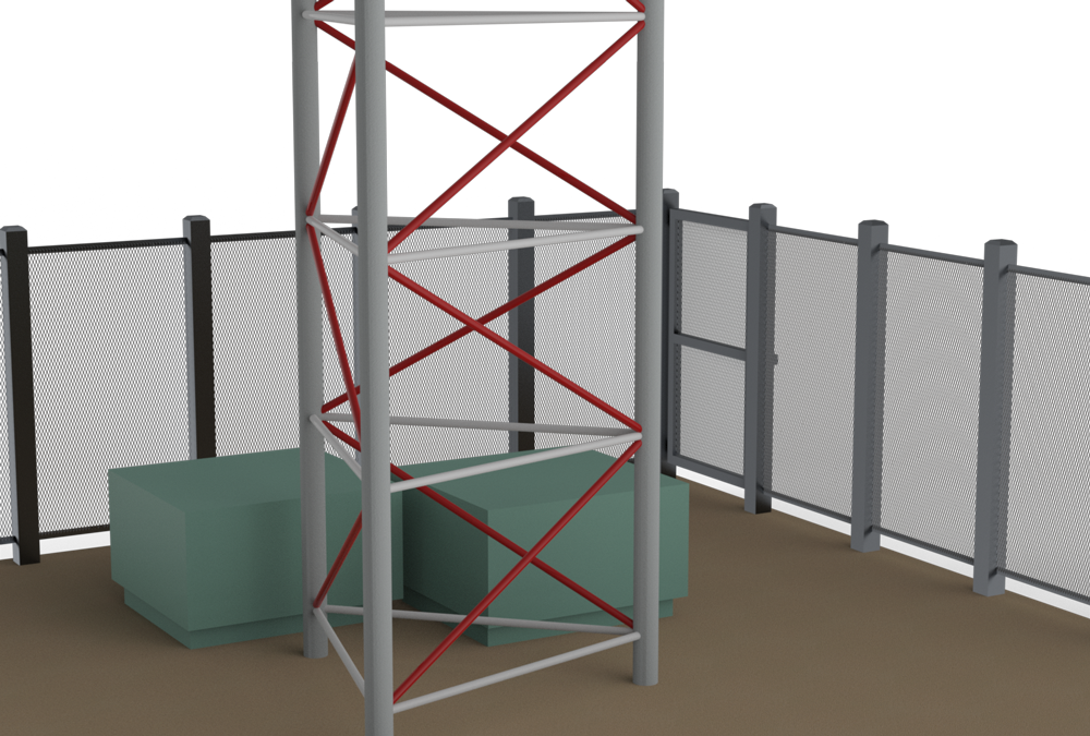 diagram of expanded metal as fencing