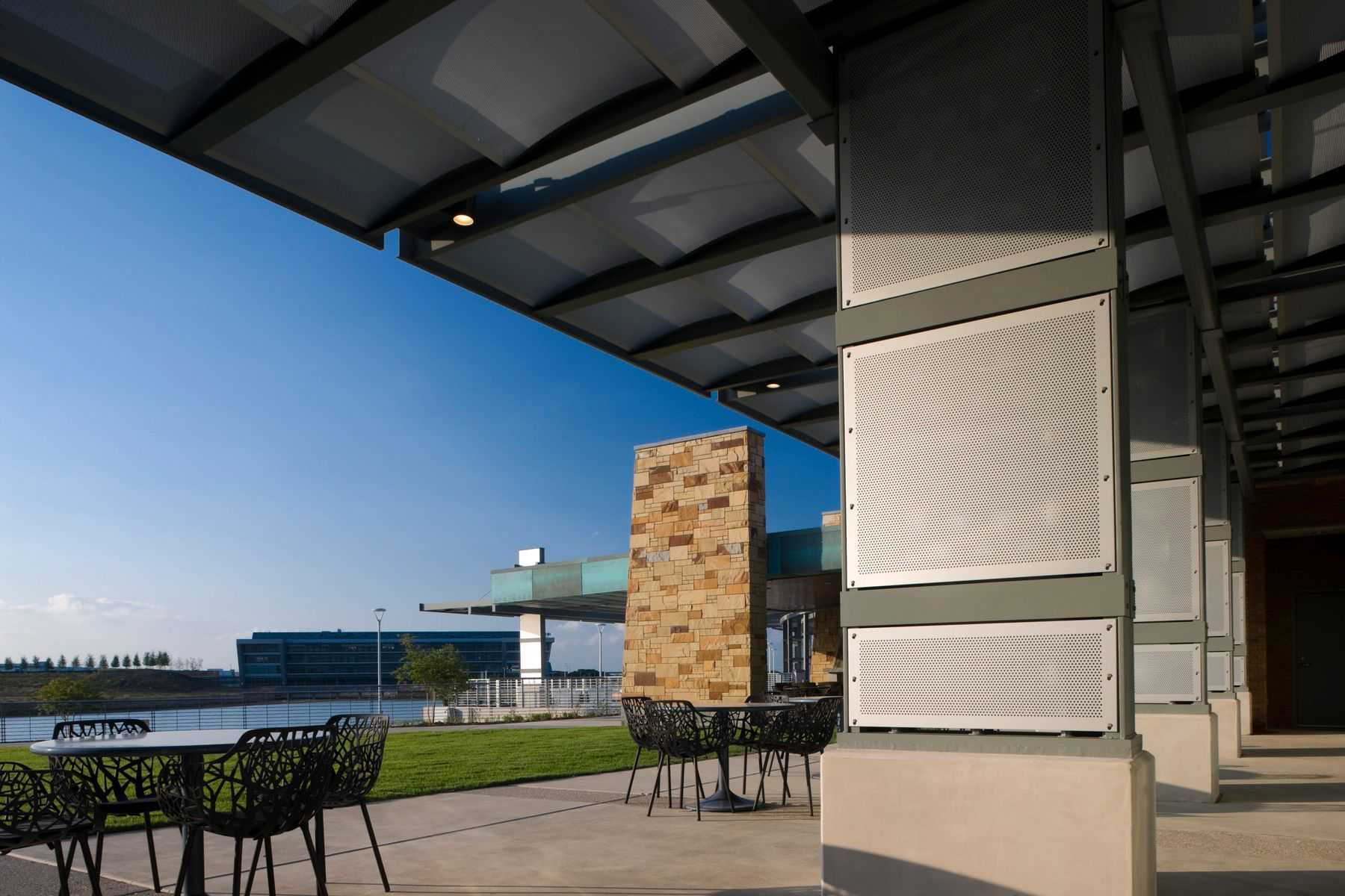 McNICHOLS® Perforated Metal being utilized at The Summit activity center